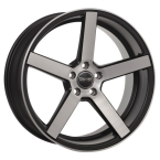 OCEAN WHEELS Cruise Concave Black matt polish(OC765064MBBF)