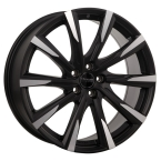 OCEAN WHEELS Mistral Black matt polish(OM1102001BMP)