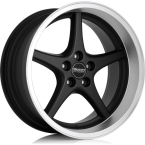 OCEAN WHEELS MK18 Black matt polish lip(JP696001BP)