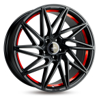 Keskin KT20 BLACK PAINTED RED INSIDE BLACK PAINTED RED INSIDE(4250084629482)