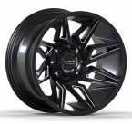 LC LC-OF 11 Gloss Black Milled(LCOF1120125139GBM44)