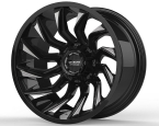 LC LC-OF 13 Gloss Black Milled(LCOF1320125139GBM44)