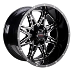 LC LC-OF 9 Gloss Black Milled(LCOF922125139GBM44)