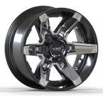 LC LC-OF 16 Gloss Black Milled(LCOF1620105139GBM12)