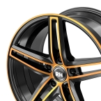 RH Alurad DG Evolution color polished - orange(DG859535112G32)