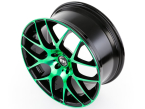 RH Alurad NBU Race color polished - green(NBU807535100K28)