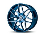 RH Alurad RB11 color polished - blue(RB111022535114G31)