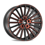 RH Alurad RB12 color polished - red(RB12959540120D30)