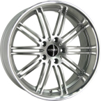 Monaco Chicane Hyper Silver / Polished(ITV18855120E20HP74CHIC)