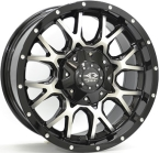 League M691 Gloss Black / Polished(ITV18906139E25ZP11M691)