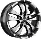 Ronal R59 Gloss Black / Polished(ITV16705112E40ZP76R59)