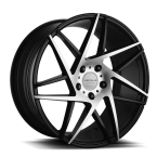 Versus 6832 Sort/Poleret(VS6832 18X8 5X112 35 73.1 BLACK/MILLED)