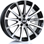 Bola XTR GLOSS BLACK POLISHED FACE(858C40BPFBWXTR-BOLA-40-5X98-8.5X18)