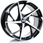 Bola B18 BLACK POLISHED FACE(859C25BPFBWB18-BOLA-25-5X98-8.5X19)
