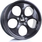 Bola B5 BLACK BRUSHED POLISHED FACE(858C40BBFBWB5-BOLA-40-5X100-8.5X18)