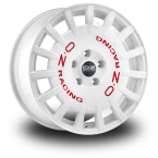 Oz Rally Racing White WHITE RED LETTERING(W01A1220033)