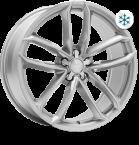 Wheelworld WH33 Race silver painted(13010)