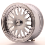 JAPAN RACING JR10 BLANK Silver Machined Face(JR101570XX3074S-5x108-30)