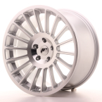 JAPAN RACING JR16 5H BLANK Silver Machined Face(JR1619105X2574S-5x108-25)