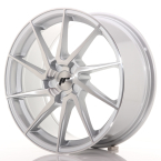 JAPAN RACING JR36 5H BLANK Silver Brushed Face(JR3618805X2074SBF-5x108-25)