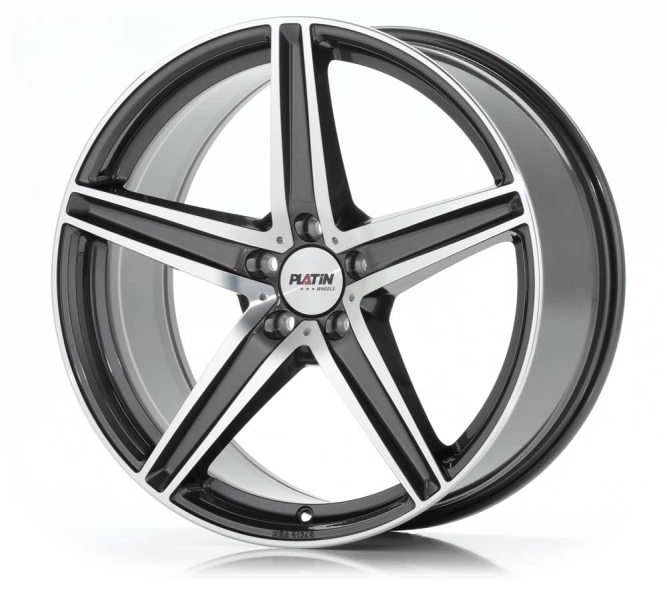 PLATIN P 85 GREY POLISHED//FRONTPOLIERT