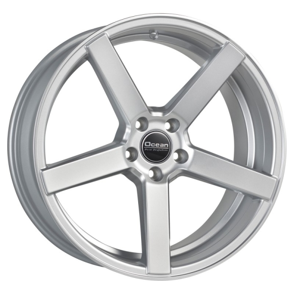 OCEAN WHEELS Cruise Concave Bright silver