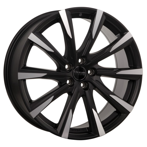 OCEAN WHEELS Mistral Black matt polish