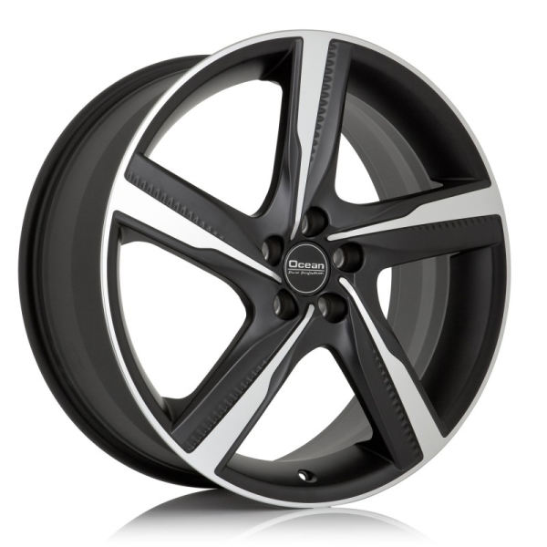 OCEAN WHEELS Orkan Black matt polish