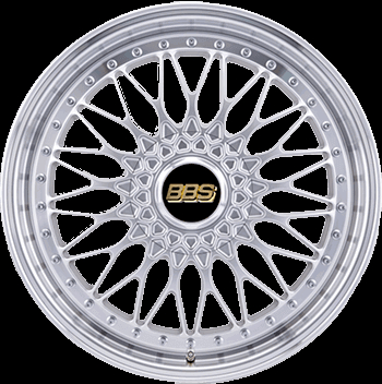 BBS Super RS ARGENT BRILLANT