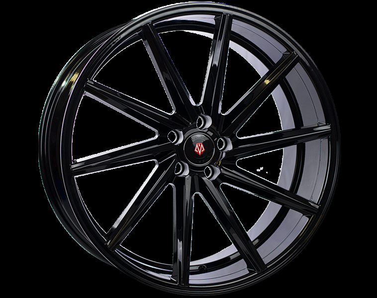 Imaz Wheels IM5L Matt Black