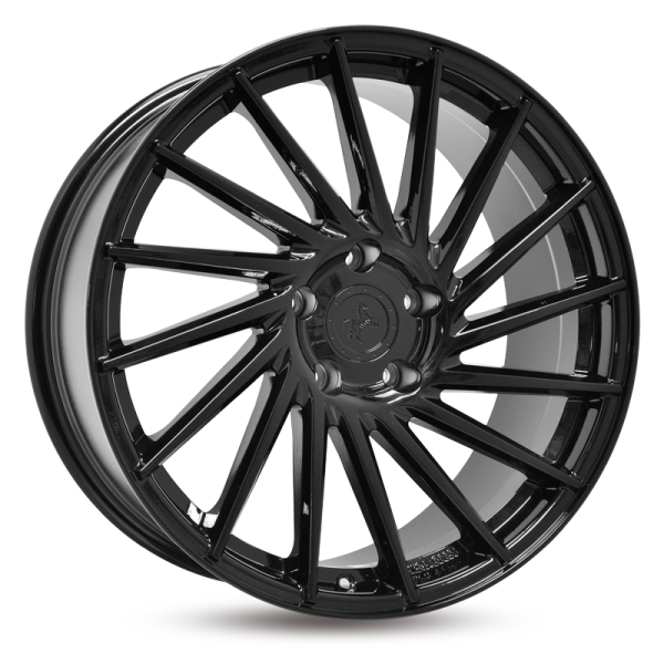Keskin KT17 BLACK PAINTED BLACK PAINTED