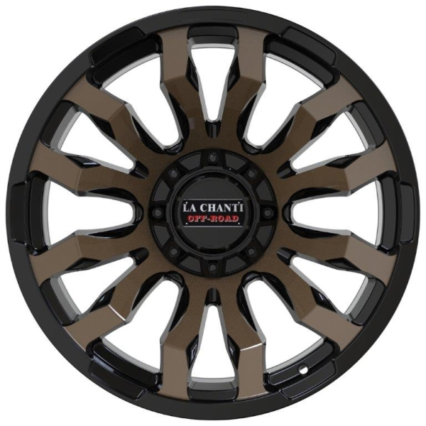 LC LC-OF 7 Gloss Blk/Mach Face/Bronze Coating