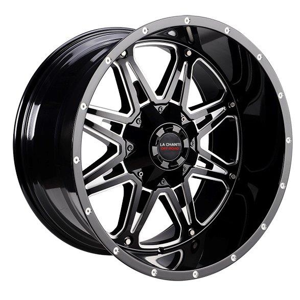 LC LC-OF 9 Gloss Black Milled