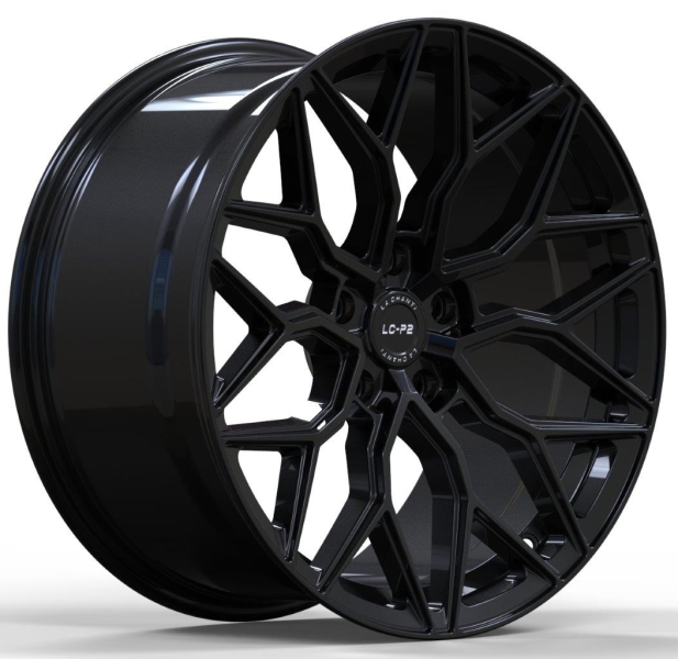 LC LC-P2 Glossy Black