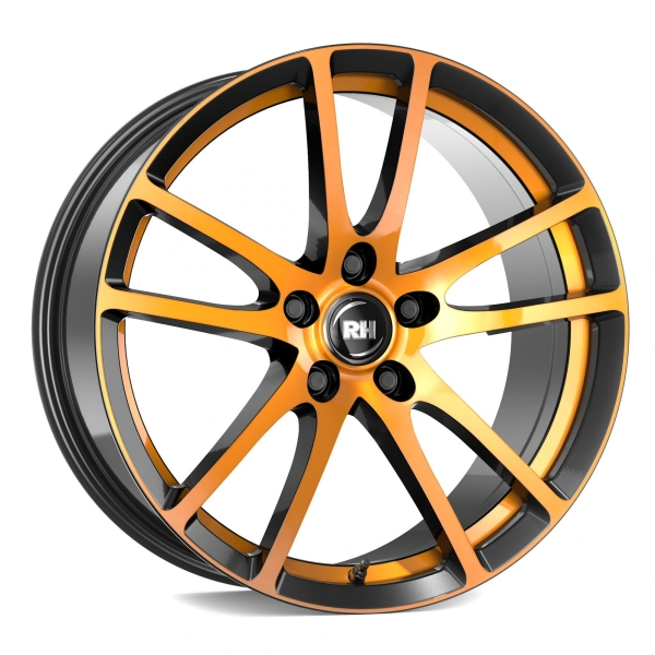 RH Alurad BO Flowforming color polished - orange