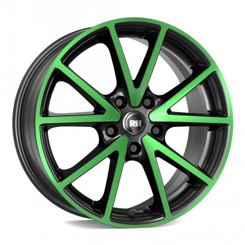 RH Alurad DE Sports color polished - green