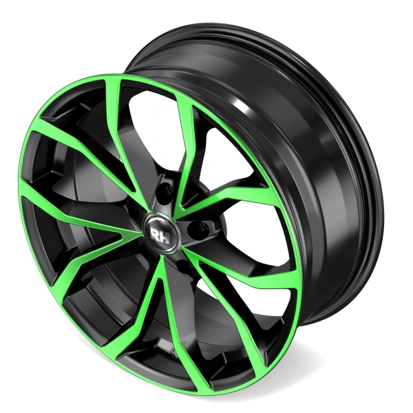 RH Alurad DF Energy color polished - green