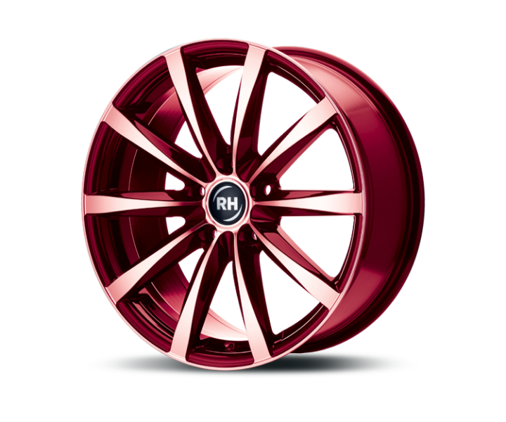 RH Alurad GT color polished - red