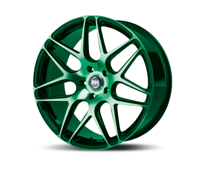 RH Alurad RB11 color polished - green