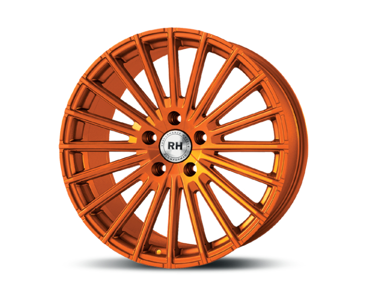 RH Alurad WM Flowforming color polished - orange