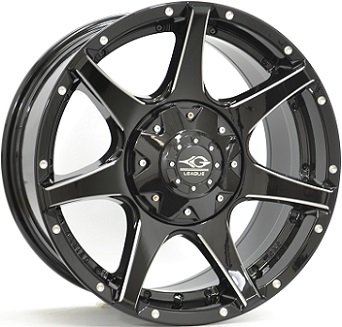 League M692 Gloss Black / Polished
