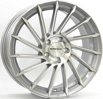 Monaco Turbine Light Gray Polished