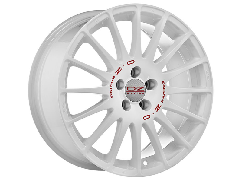 Oz Superturismo Evoluzione WRC RACE WHITE RED LETTERING