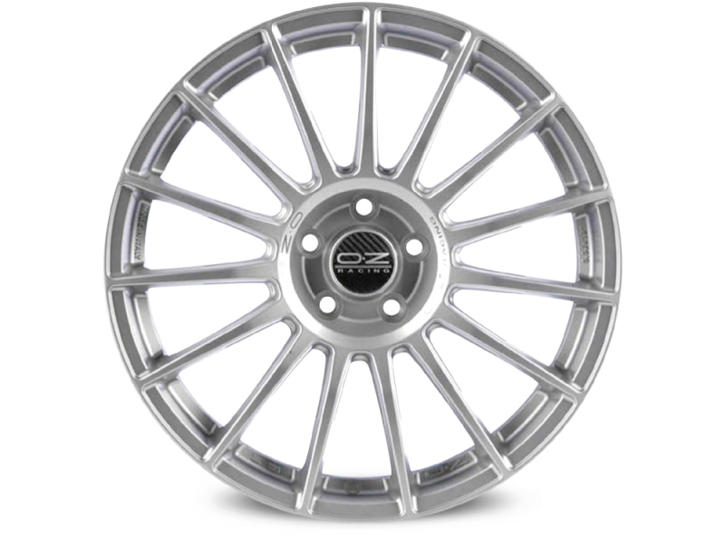Oz Superturismo LM MATT RACE  SILVER BLACK LETTERING