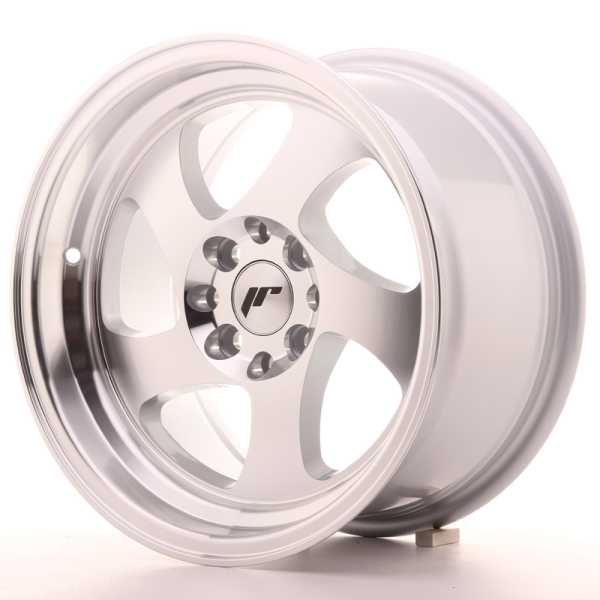 JAPAN RACING JR15 Silver Machined Face