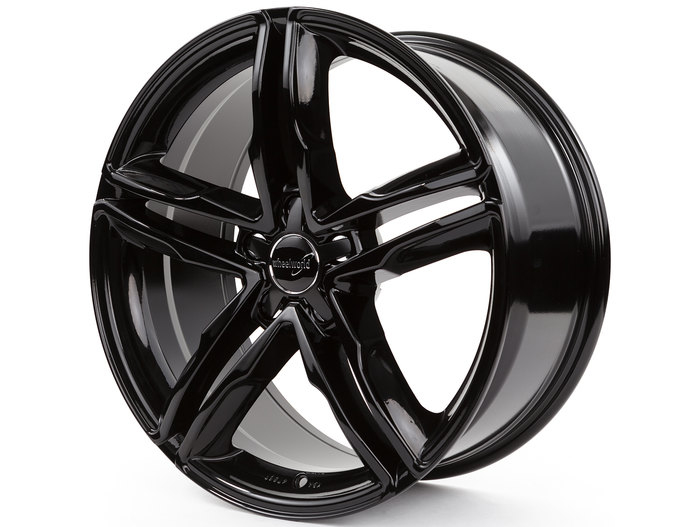 Wheelworld WH11 Black glossy painted