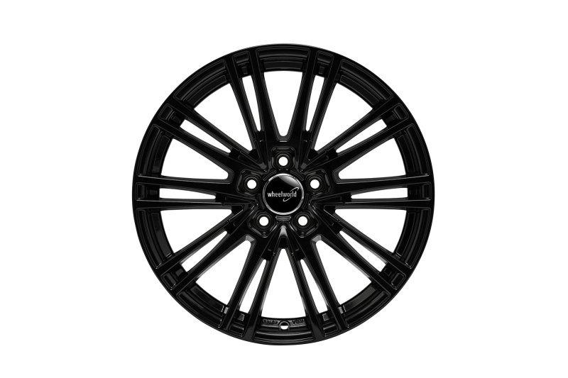 Wheelworld WH18 Black glossy painted