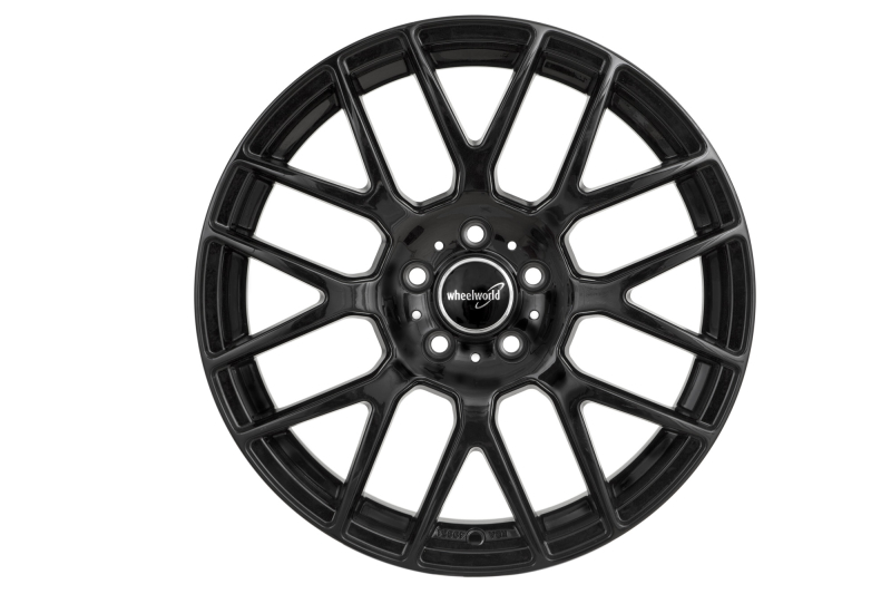 Wheelworld WH26 Black glossy painted